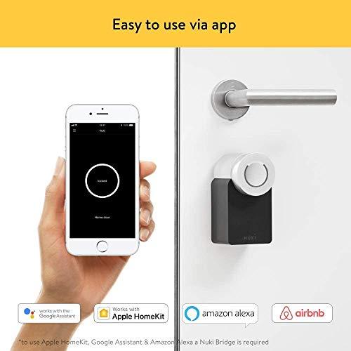 Nuki Smart Lock 2.0 – Apple HomeKit – Amazon Alexa – Google home – IFTTT – Elektronisches Türschloss - 5