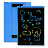 TEKFUN Girls Gifts Toys for 3-6 Year Old Girls, LCD Writing Tablet Toddler Doodle Board, 11inch Colorful Drawing Tablet Writing Pad, Educational Learning Toy Birthday Gift (Light Blue)