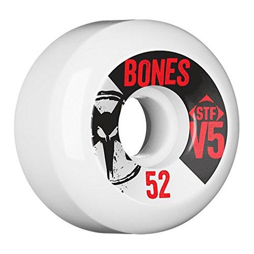 Bones Wheels STF V5 Series II 83B Rollen, White, 54 mm