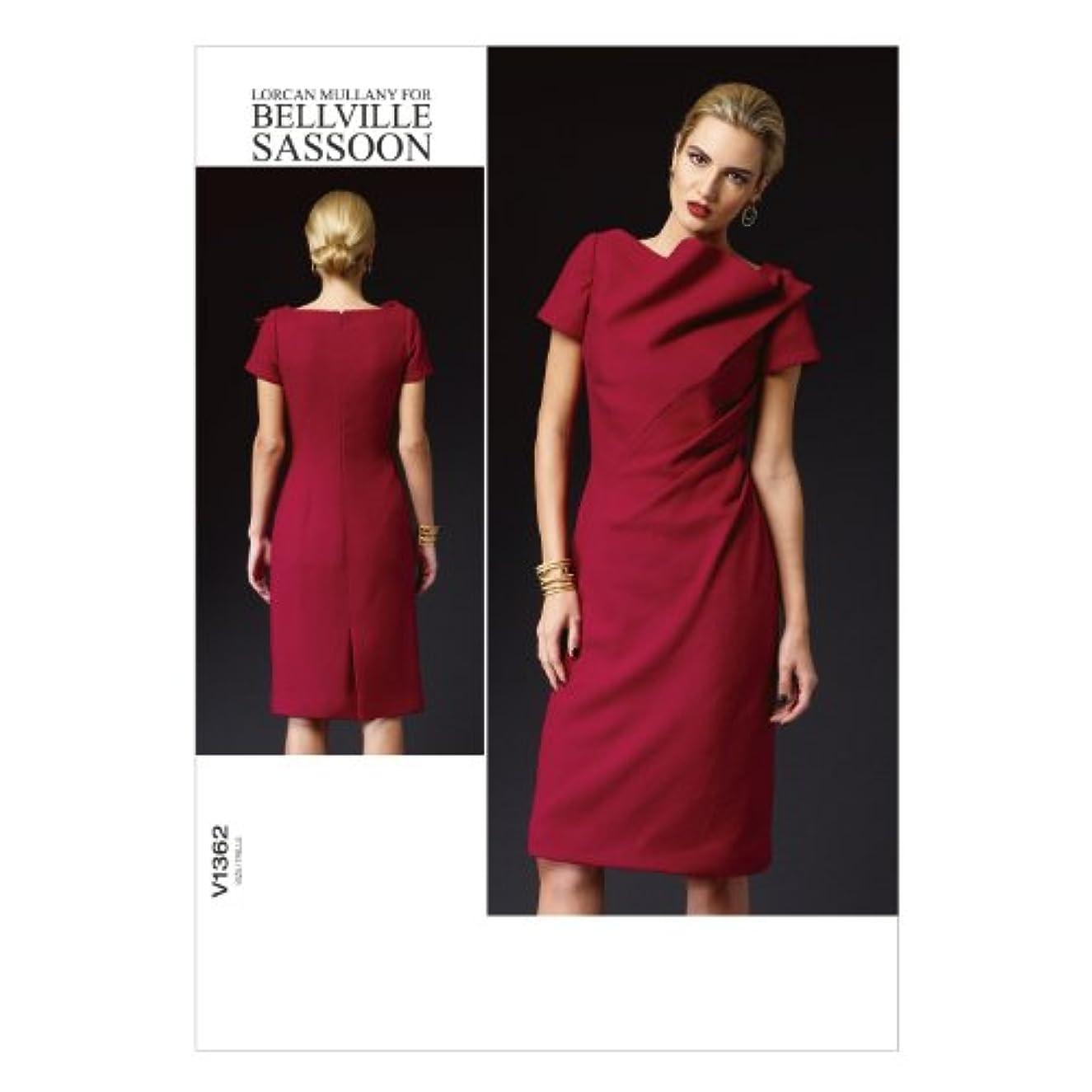 Vogue Patterns V1362 Misses' Dress Sewing Template, Size E5 (14-16-18-20-22)