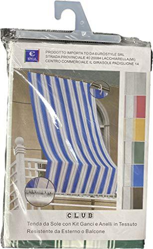 Eurostyle - Toldo para balcón con diseño de rayas