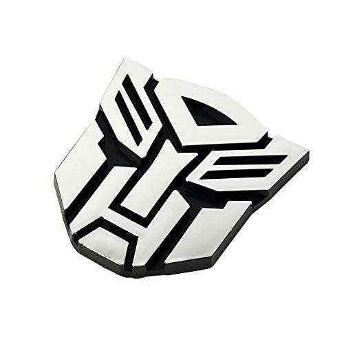3D Auto Aufkleber Logo, Transformers Autobot Emblem Beschützer Logo Symbol Auto Aufkleber Aufkleber Abzeichen Grafiken - einfach anwenden Selbstklebende Emblem Zubehör
