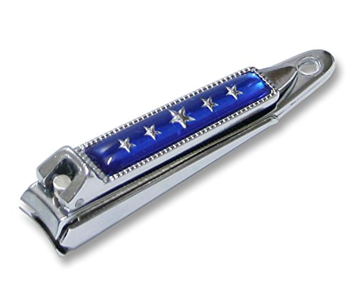 ボウリング男性具体的にKC-052BL 関の刃物 関兼常 チラーヌ爪切 小 青