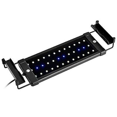 NICREW ClassicLED Aquarium Beleuchtung, Aquarium LED Lampe mit Mondlicht, LED Licht für Süßwasser-Aquarien