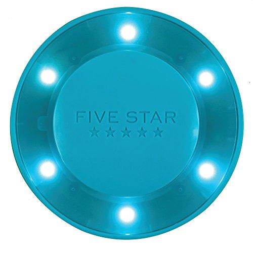 Five Star Locker Organizer, Locker Light, Push Button, LED, Blue (73565)