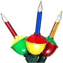 Celebrations Bubble Light Set, C7 Multicolored (2 Pack)