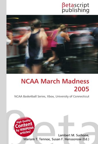 NCAA March Madness 2005: NCAA Basketball Series, Xbox, University of Connecticut