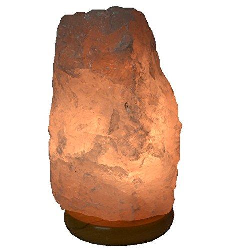 schöne große Edelstein Lampe Rosenquarz aus Brasilien, Naturbelassener Kristall und sehr guter Strahlenschutz, Ideal für jeden Raum, Rosenquarz Leuchte mit einem von Gewicht zwischen 4-5 kg