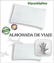 color blanco 23x42x10 cm Viscoel/ástica Sabanalia Almohada de Viaje