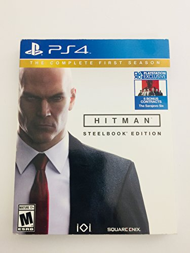 Hitman: The Complete First Season Steelbook Edition (PS4) (輸入版)