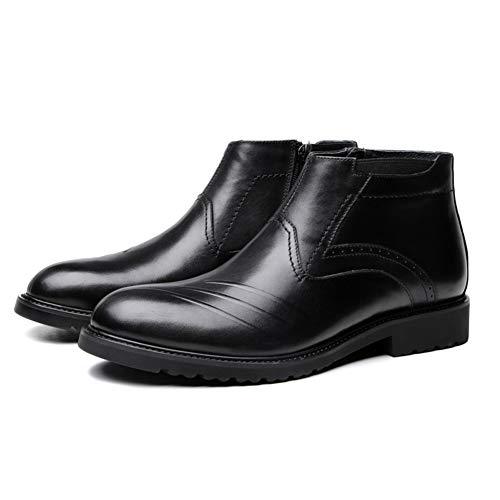 Heren Laarzen, Mode Hoge-Top Schoenen, Heren Grote Lederen Schoenen, Comfortabele Laarzen, Dagelijks Werkkleding, Voeten