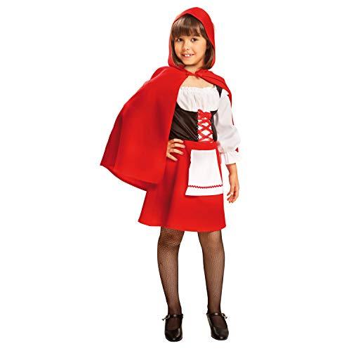 Caperucita roja disfraz niños cuentos de hadas revestimiento rotkäppchenkostüm chica carnaval