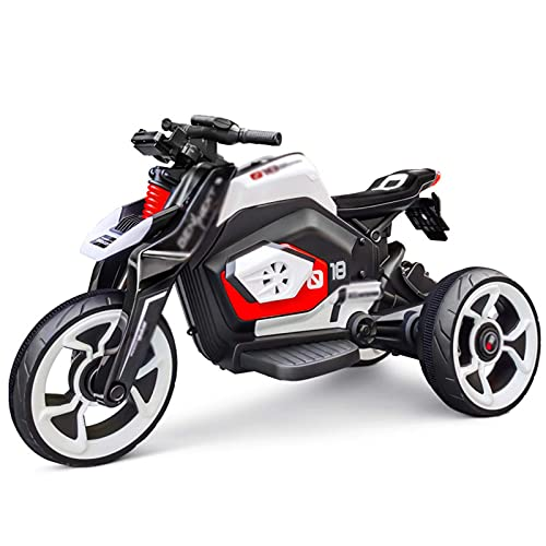 XLAHD Motocicleta eléctrica para niños Motocicletas para niños Vehículos eléctricos para niños Triciclos Motocicletas Bicicletas para Ejercicios de extremidades para niños Coches de Juguete, B