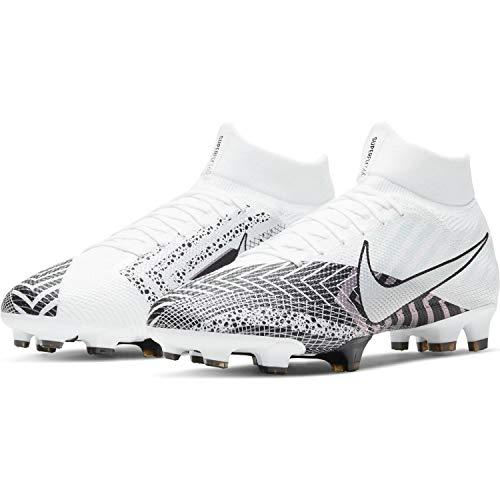 Nike Unisex Fußballschuhe, Weiss Schwarz, 42.5 EU