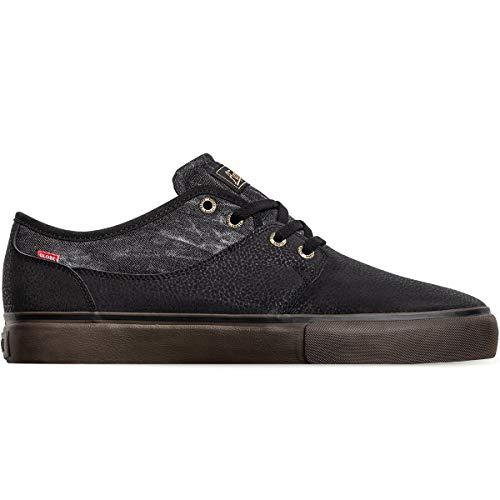 Globe Mahalo , Chaussures de Skateboard Homme ,Noir / Denim / Gum ,38 EU ( 5 UK / 6 US )