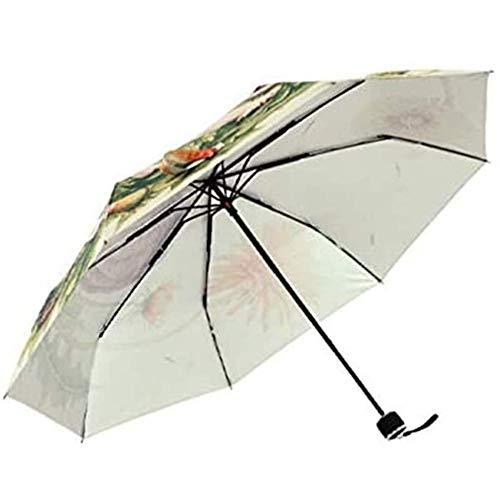 ZHANGYY Folding Umbrella Stick Umbrella Automatically Opens Closes Windproof Umbrella Waterproof Travel Umbrella Easy To Travel Slip-Proof Handle