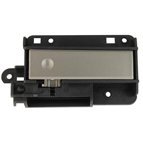 IAMAUTO 38007 Upper Compartment Glove Box Latch Handle Silver Titanium for 2008 2009 2010 2011 2012 2013 Silverado and Sierra