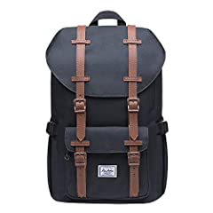 URABLE&GOOD QUALITY:This backpack is made of nylon and the inner lining is polyester, which is easy to clean.The pockets on the front gives you some space to place your things and easy to access.The back side comes with protective padded design,easy ...