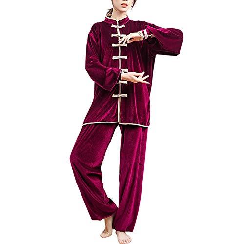 Tai Chi Anzug Unisex Performance Kleidung Wärme und verdickte Tai Chi Übungskleidung