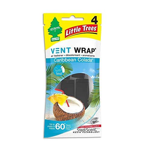 Little Trees Vent Wrap Car Air Freshener (Caribbean Colada)