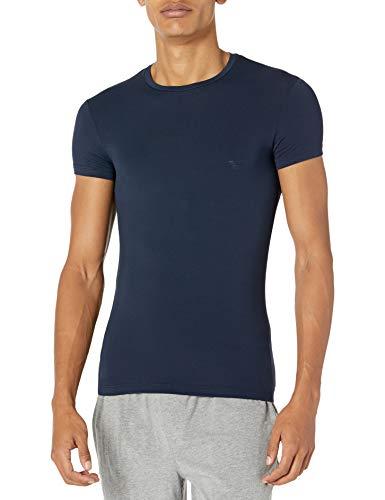 Emporio Armani Herren T-Shirts Pyjama-Oberteil (Top), Military, X-Large
