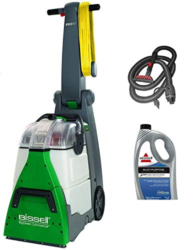 Great Features Of Bissell BigGreen Commercial BG10 Deep Cleaning 2 Motor Extracter Machine w/ Uphols...