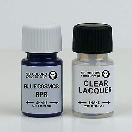 Sd Colors Blue Cosmos Rpr Ausbesserungslack 8 Ml Reparatur Pinsel Farbcode Rpr Blue Cosmos Lack Grundierung Lack Baumarkt