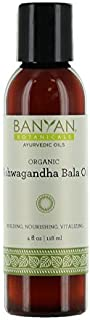Banyan Botanicals Ashwagandha Bala Oil 4 oz - USDA Organic - Building & Nourishing - Vitalizing Herbal Massage Oil for Muscles & Joints*