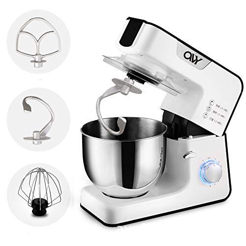 Professional Electric Food Mixer 1000W Power, met 3 verschillende Stir Attachment, 8 Adjustable Speed, Mixer voor Kitchen Baking Cafe