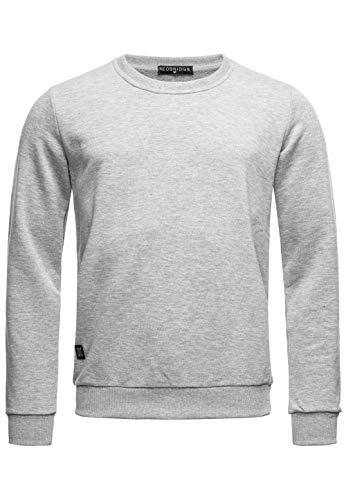 Red Bridge Herren Crewneck Sweatshirt Pullover Premium Basic,Grau-ii,M