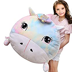 *SUPER SOFT & SMELL FREE MATERIAL: Chener plush bean bag chair cover is made of 100% Non-Toxic and skin-friendly soft fabric, your kids must love it! Double stitched premium quality that won't tear ensuring usage and storage for years. Portable with ...