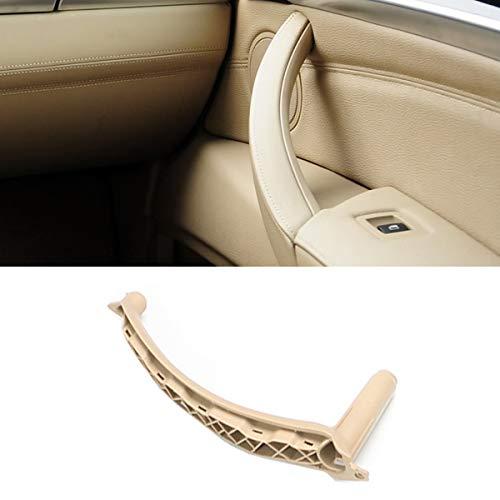 TTCR-II For BMW X5 X6 Door Handle Support Pull Strap, Door Handle Inner Bracket Right Front/Right Rear Passenger Side Door Armrest Trim (Fits: BMW X5 2007-2013 and X6 2008-2014)(Beige, Right)