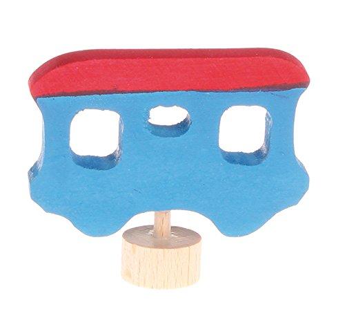 Grimms Spiel Und Holz Design Grimm's Stecker Anhänger blau