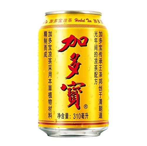 Jia Duo Bao JDB Herbal Tea Drink - 24 Cans x 310ML