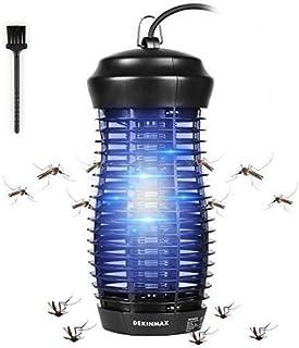 DEKINMAX Lámpara Mata Insectos Electrico Lámpara Anti Mosquitos UV Mosquitera Eléctrica (Lámp...