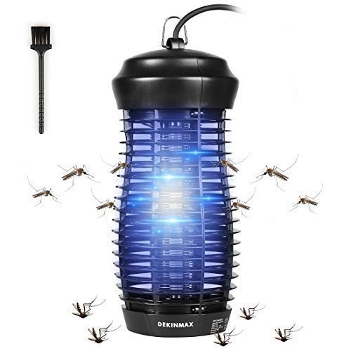 DEKINMAX Lámpara Mata Insectos Electrico Lámpara Anti Mosq
