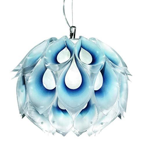 Flora – Lámpara colgante azul Ø50 cm – Lámpara de techo diseñada por Zanini de Zanine