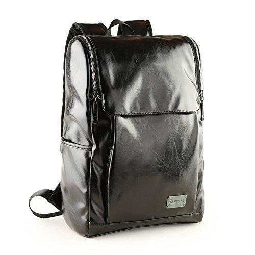Sincere® / Multifonction M package de mode Fashion Backpack / Zipper Sacs à dos / Rue / / sac à bandoulière casual / sacs des élèves / extérieur sac de sport / hommes sac noir