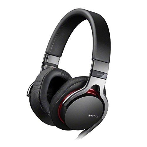 Sony MDR-1RB Kopfhörer mit Mikrofonkabel für Apple iPod/iPhone/iPad schwarz