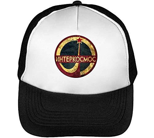 BakoIsland CCCP Space Agency Interkosmos Logo Trucker Cap Herren Damen Schwarz weiß Snapback