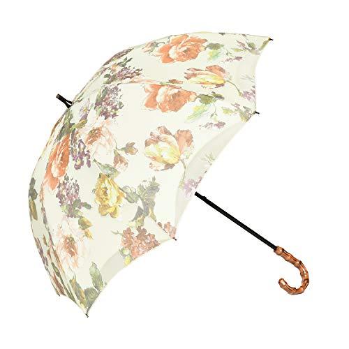 100%完全遮光 99%ではダメなんです! 【Rose Blanc】 日傘 晴雨兼用 UVカット 1級遮光 撥水 ブランド おし...