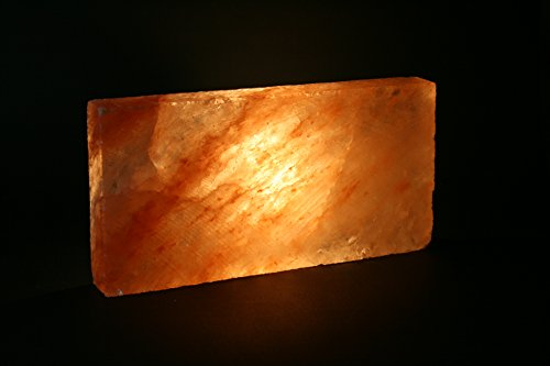 Salzziegel Salzfliese 20x 10 x 2,5 cm Himalaya* Salz (aus der Salt Range Pakistan)