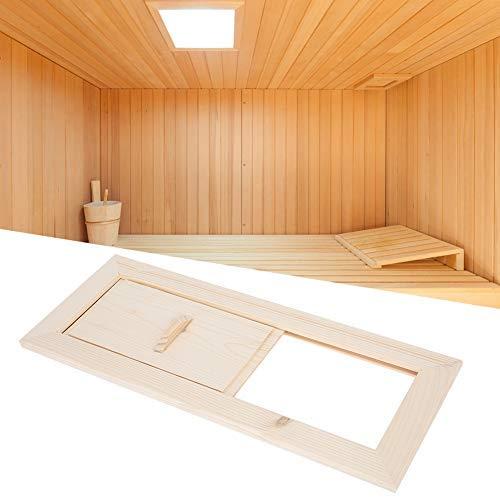 Mumusuki Sauna Kamer Luchtventilatiepaneel Stoomkamer Luchtventilatie Terugkeer Grille Sauna Apparatuur Accessoires Consistente luchtstroom (13.4x5.3in)