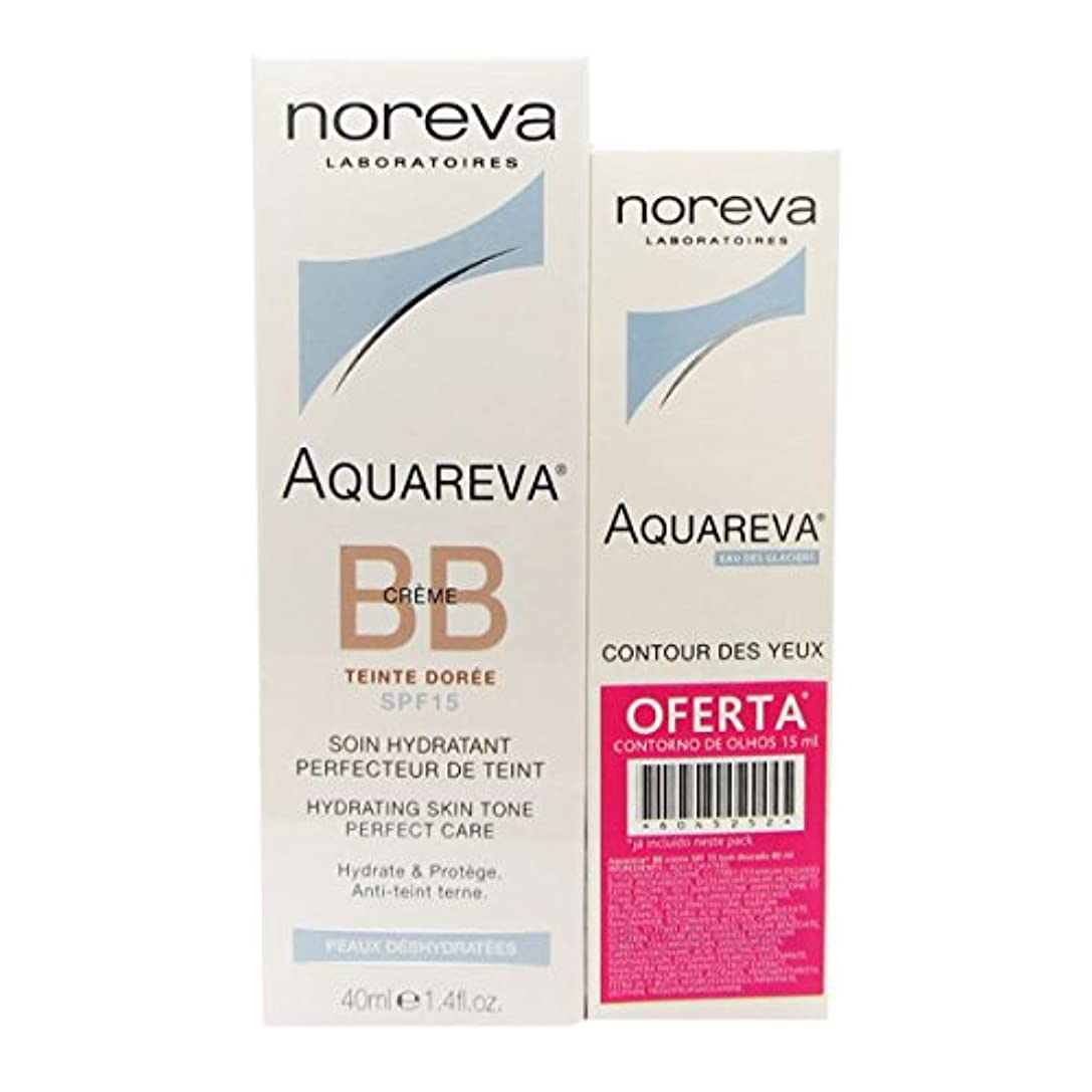 擁する不利益差し迫ったNoreva Gift Pack Aquareva Cream Bb Dor Spf15 40ml + Aquareva Eye Countour [並行輸入品]