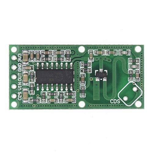 Kit de sensores electrónicos de radar de microondas Módulo de sensor de radar de cuerpo humano Módulo de interruptor de inducción Sensor inteligente sensores electrónicos
