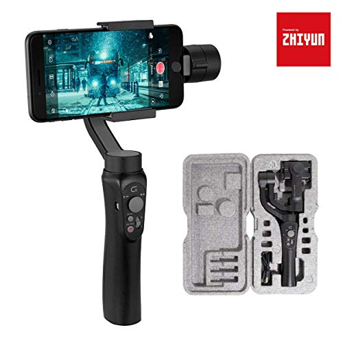 3-Axis Phone Gimbal Stabilizer for iPhone 11 Pro, Powered by ZHIYUN-Gimbal-Phone-Stabilizer for...