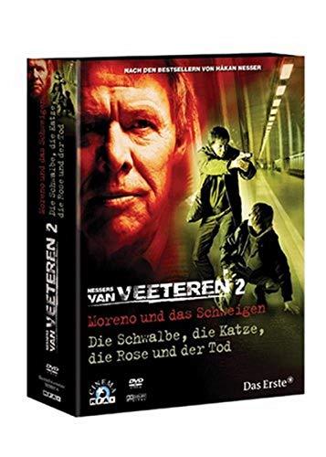 Van Veeteren Vol. 2: Moreno und das Schweigen - Die Schwalbe, die Katze, die Rose und der Tod (2 DVDs)