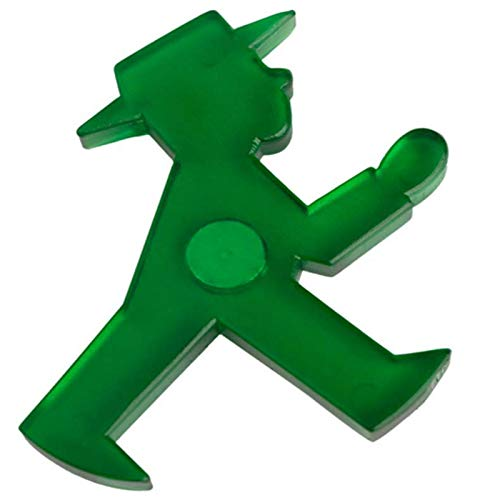 AMPELMANN Häftling Magnet Geher grün 5 cm