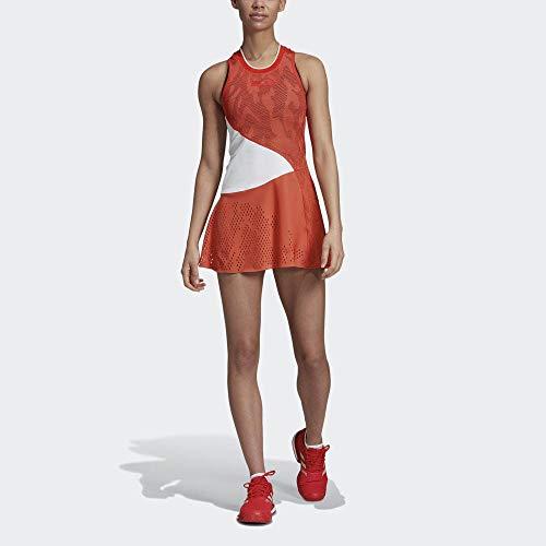 adidas Asmc Dress Vestido, Mujer, rojact, L