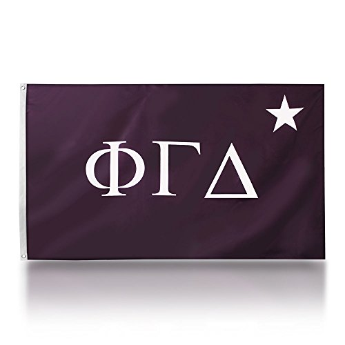 We The Greek Phi Gamma Delta 3' X 5' Officially Licensed Traditional Fraternity Flag